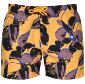 Product Image for HUGO Zushi Swim Shorts Yellow